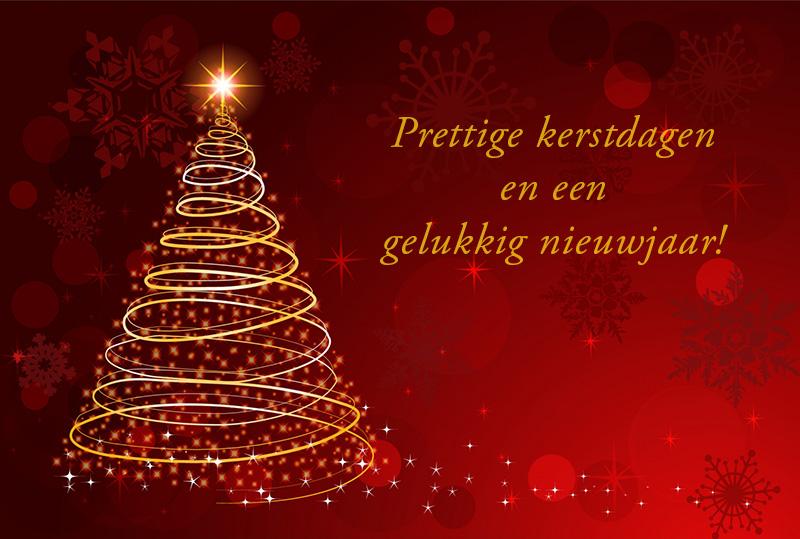Prettige Kerstdagen En Een Gelukkig Nieuwjaar!