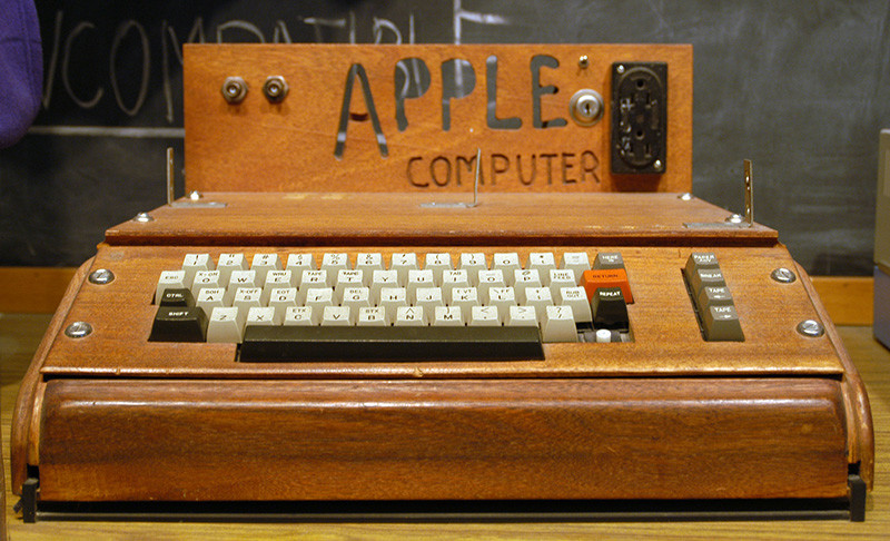 Zeldzame Apple Computer Achtergelaten Bij Recyclingfirma