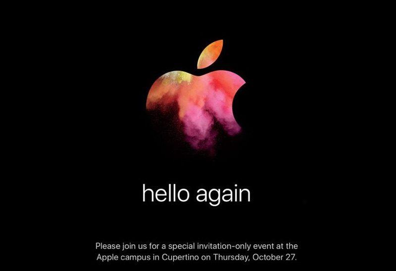 Apple Nodigt Media Uit Voor Event Op 27 Oktober