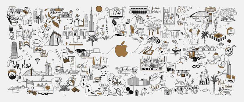 Apple Dubai Mall Opent Deuren Op 27 April