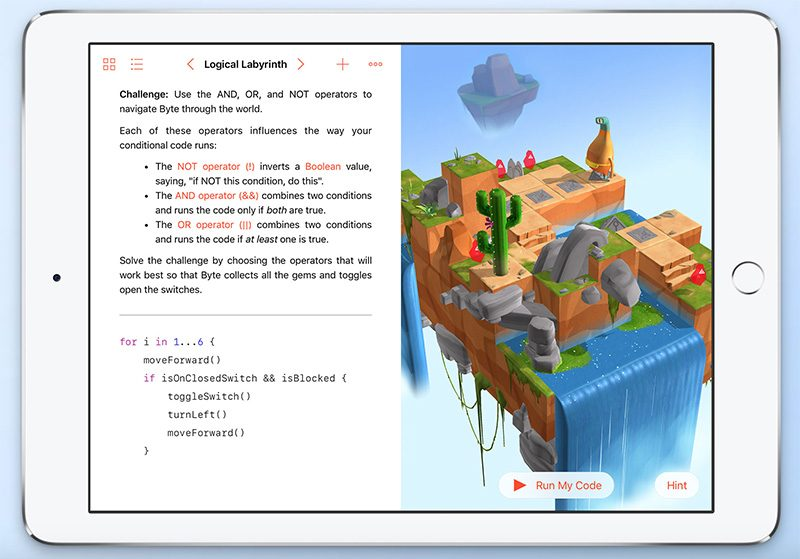 Swift Playgrounds-app
