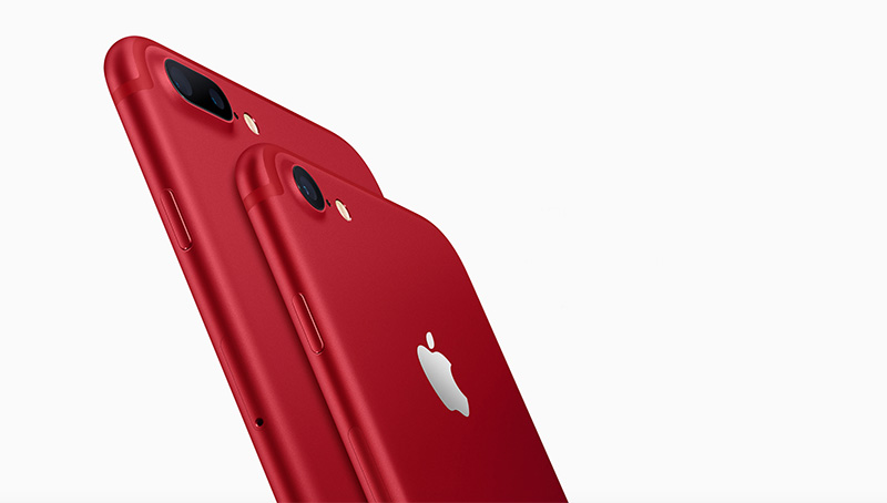 IPhone 7 En IPhone 7 Plus (PRODUCT)RED Special Edition