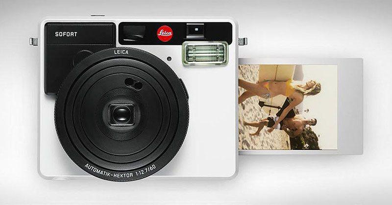 Leica Prensenteert De Leica Sofort Instantcamera