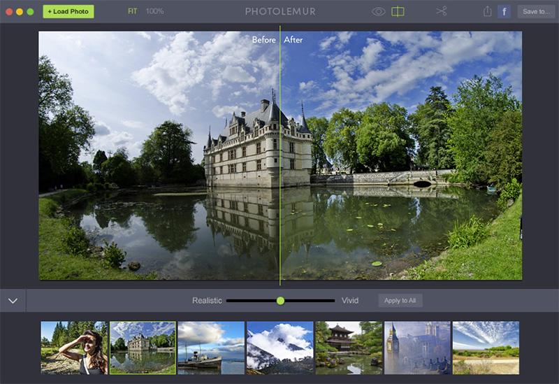 Zelflerende Fotografische Applicatie Photolemur