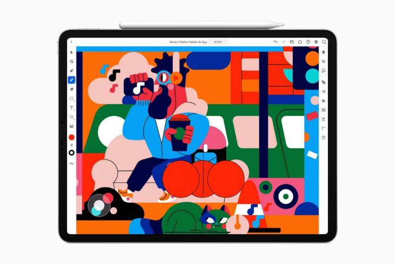 Adobe Illustrator Nu Ook Op De IPad