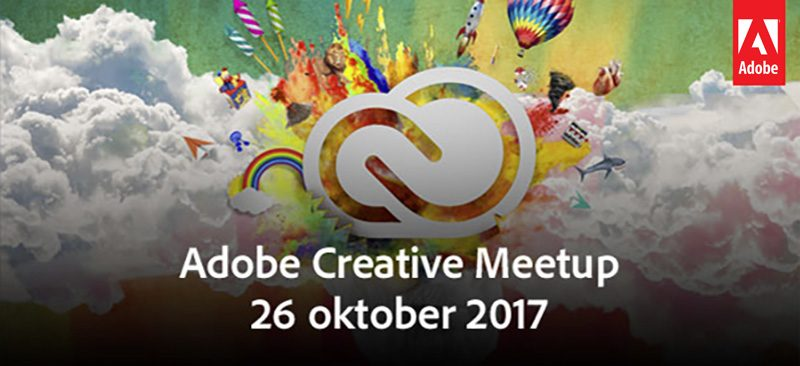 Adobe Creative Meetup Op 26 Oktober