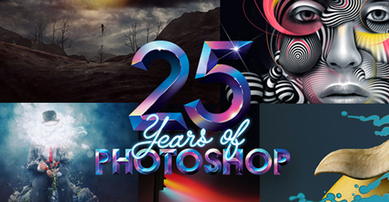 25 Jaar Adobe Photoshop