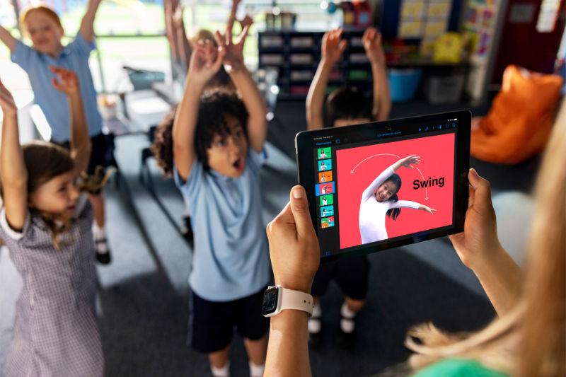 Apple Onthult Nieuwe Lesmiddelen Voor Basisschoolleerlingen