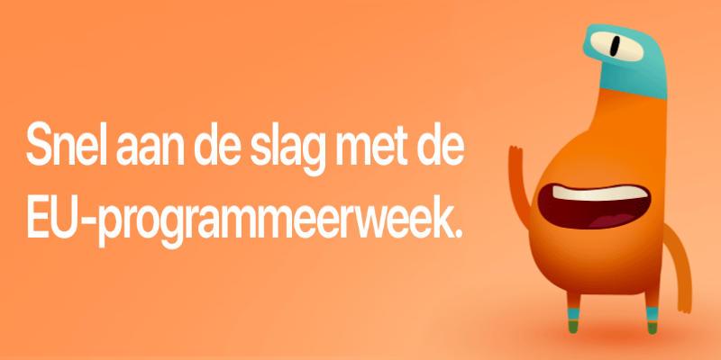 EU-programmeerweek 10-25 Oktober