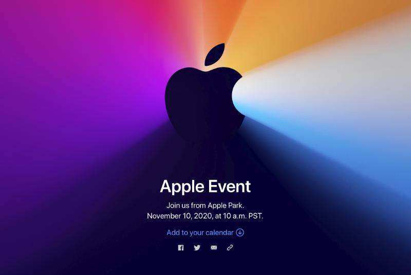 Apple Event Op 10 November