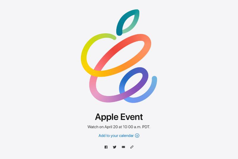 Apple Event Op Dinsdag 20 April