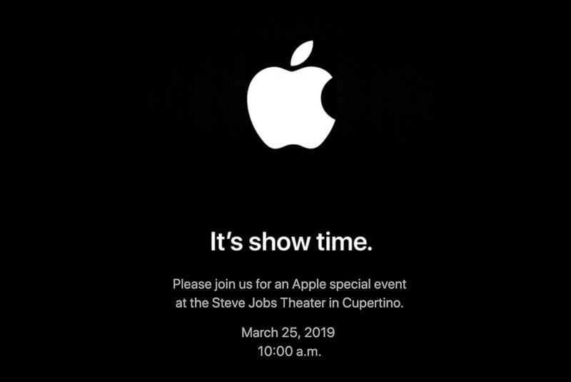 Apple Kondigt Event Op 25 Maart Aan