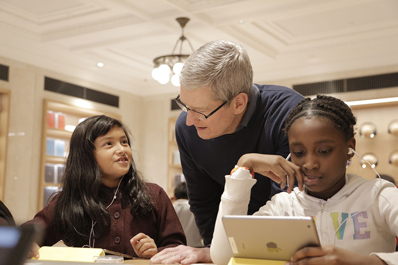 Apple Organiseert Hour Of Code-sessies
