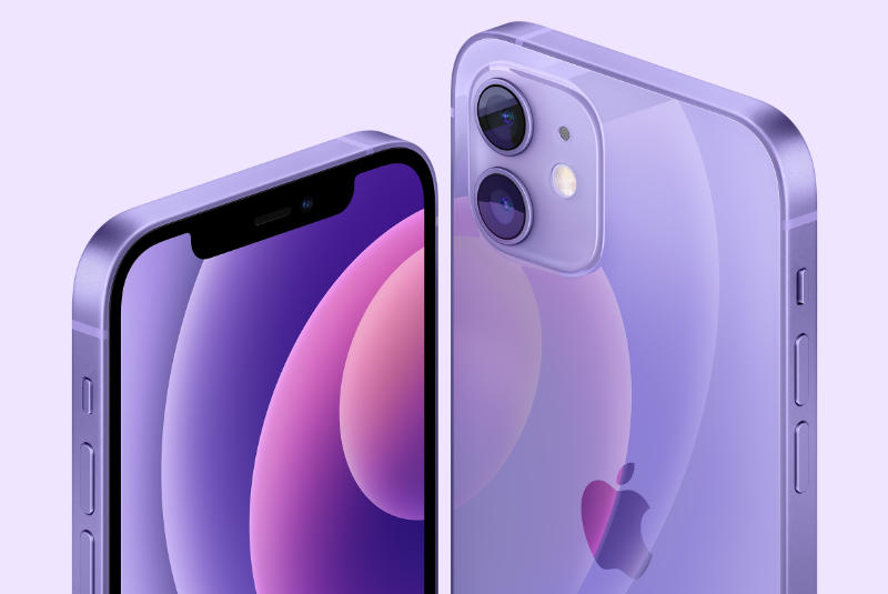 Apple Introduceert Paarse IPhone 12