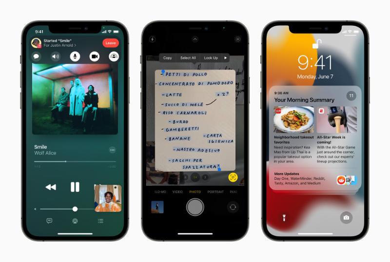 Apple Kondig IOS 15 Aan