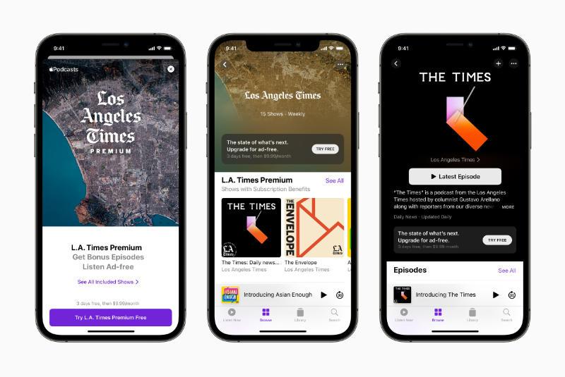 Apple Podcasts-abonnementen Nu Beschikbaar