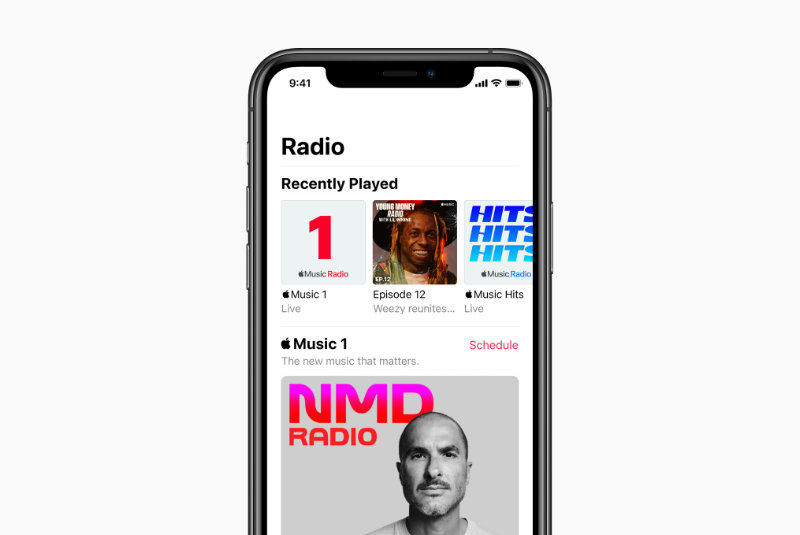 Nieuwe Apple Music-radiostations