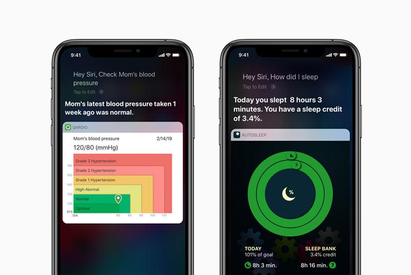 Siri-opdrachten Voor Een Gezonder En Sportiever Leven