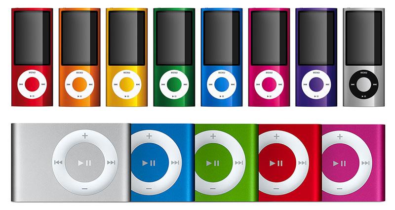 IPod Nano En IPod Shuffle Verwijdert Uit Apple Store
