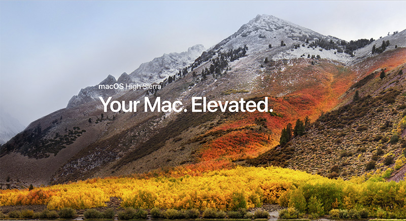 MacOS High Sierra Nu Te Downloaden