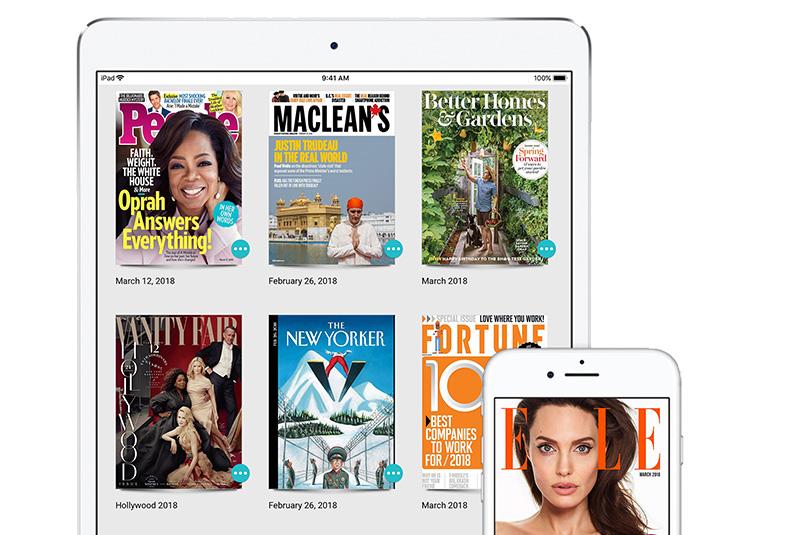Apple Neemt Digitale Tijdschriftenservice Texture Over