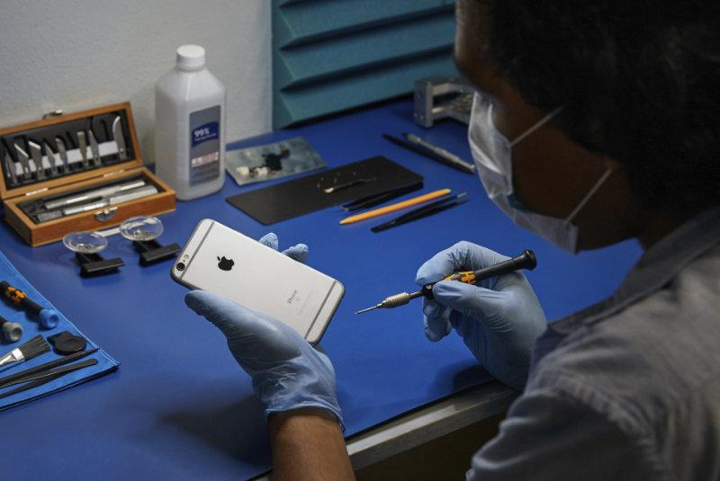 Apple Breidt IPhone-reparatiediensten Uit