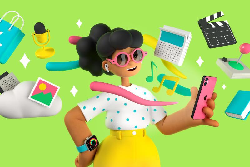 Amusement, Informatie En Onderling Contact Dankzij De Services Van Apple
