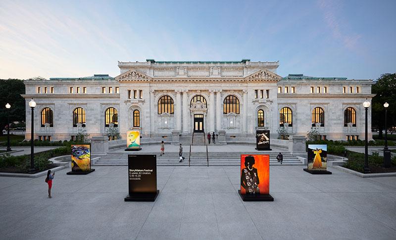 Nieuwe Apple Store In Carnegie Library