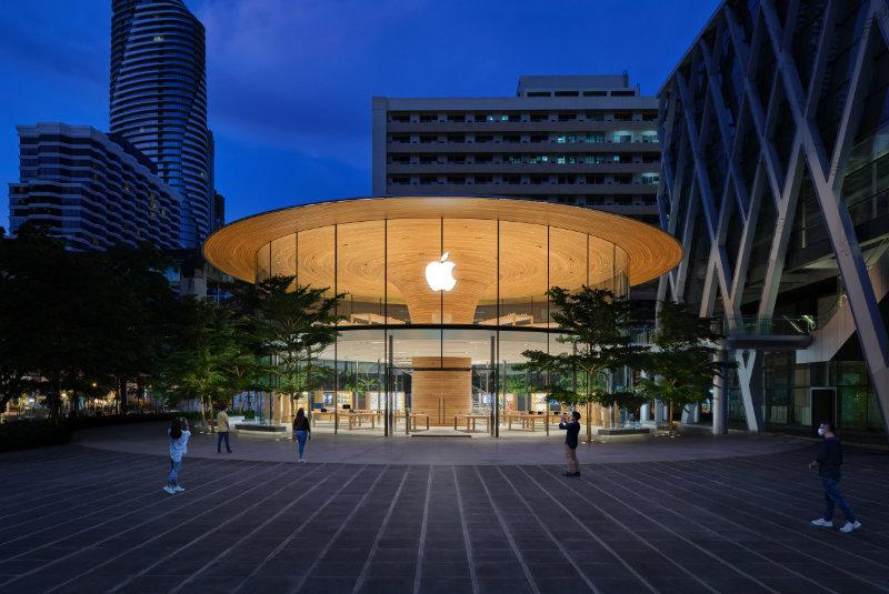 Apple Central World Wordt Vrijdag Geopend In Thailand