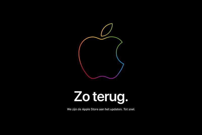 De Apple Store Is Offline