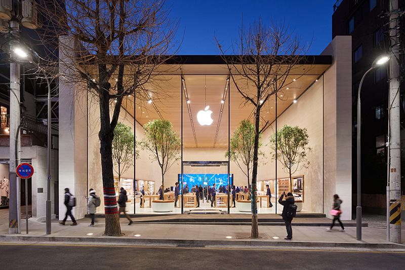 Eerste Apple Store In Zuid-Korea Geopend