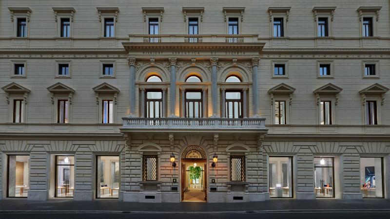 Apple Via Del Corso In Rome Opent Op 27 Mei