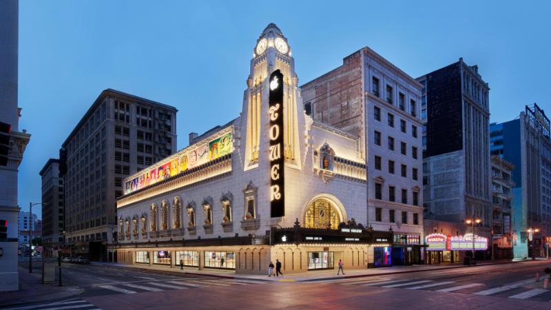 Apple Tower Theatre Opent Zijn Deuren In Los Angeles