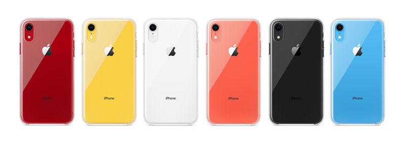 Apple Introduceert Transparant Hoesje Voor De IPhone XR