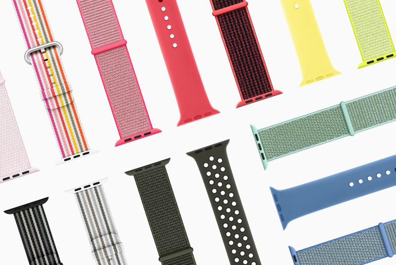 Nieuwe Apple Watch-bandjes In Voorjaarskleuren En -stijlen