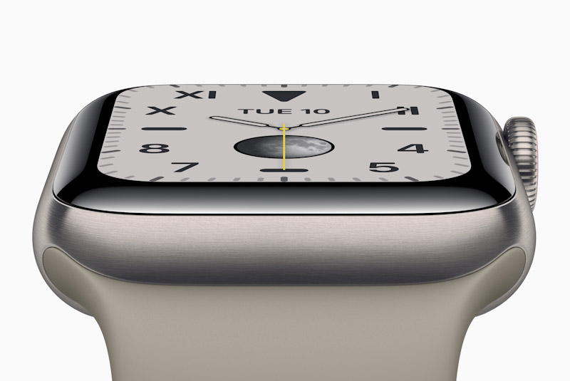 Apple Onthult Apple Watch Series 5