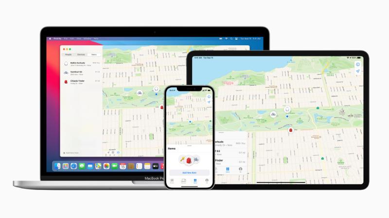 Apple Werkt Zoek Mijn-netwerk Bij Voor Gebruik Door Derden