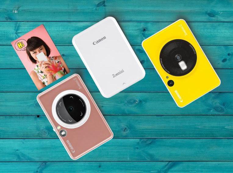 Canon Introduceert Twee Instant-cameraprinters