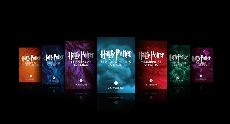 Boeken Harry Potter Exclusief Verkrijgbaar Via IBooks
