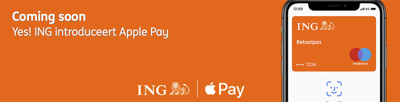 ING Introduceert Apple Pay In Nederland