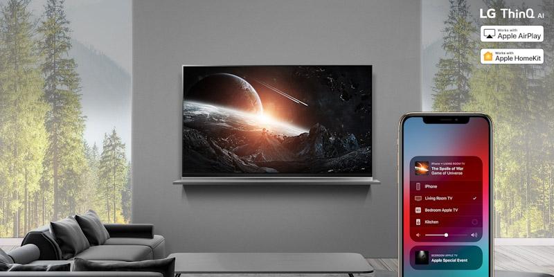 LG Brengt Apple AirPlay 2 En HomeKit Naar LG Smart TV's