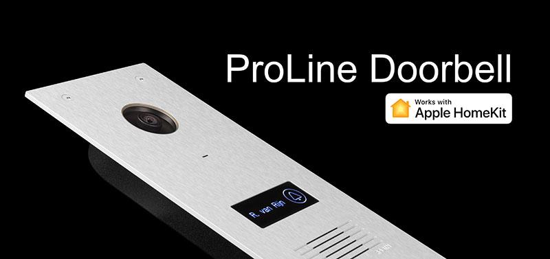 De ProLine Deurbel Met Apple HomeKit Ondersteuning